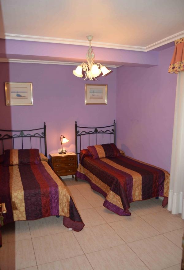 Habitaciones dobles con baño compartido